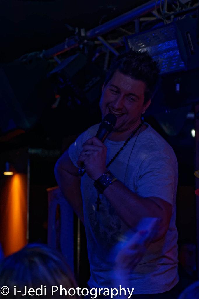 Michael Fischer in der Tanzbar 2014